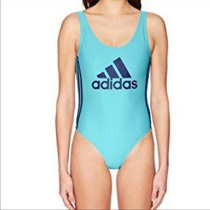 Adidas Core Logo One Piece Swimsuit Size XL